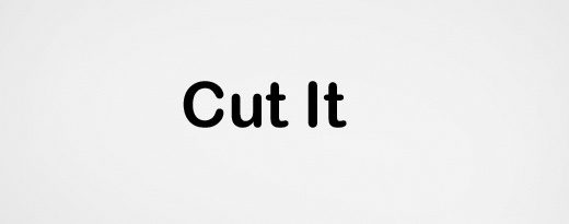 Cut It - a small puzzle game