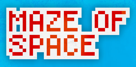 Maze of Space - pixelated adventure