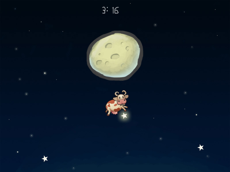 Moo at the Moon